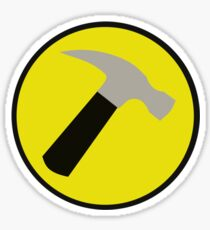 Instant Captain Hammer Costume Sticker