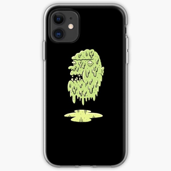 Oozing Zombie Head  iPhone Soft Case