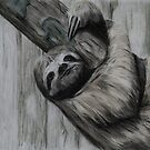 Tinted charcoal Sloth by gogston