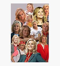 Leslie Knope Tile Photographic Print