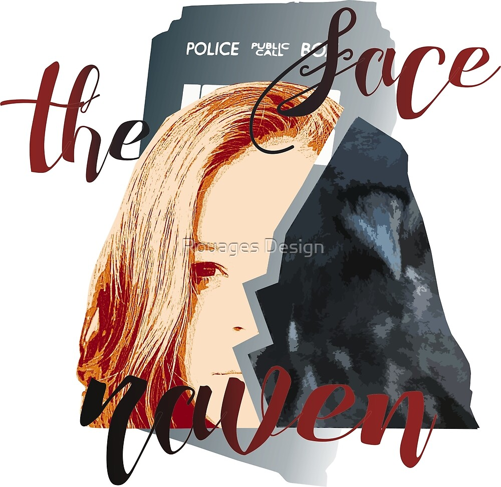 Face the Raven by Rouages Design