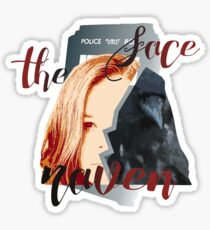 Face the Raven Sticker