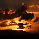 Mountain Sunset by jlv-