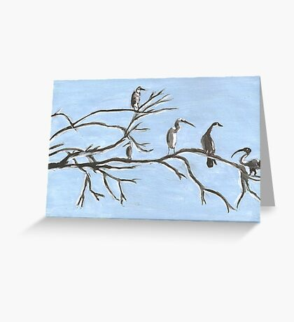 Birds at St George Greeting Card