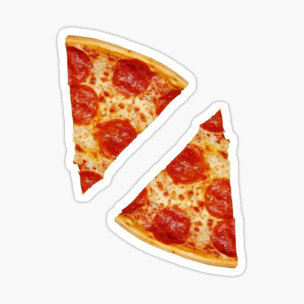 Pepperoni Pizza Slices ×2 Sticker