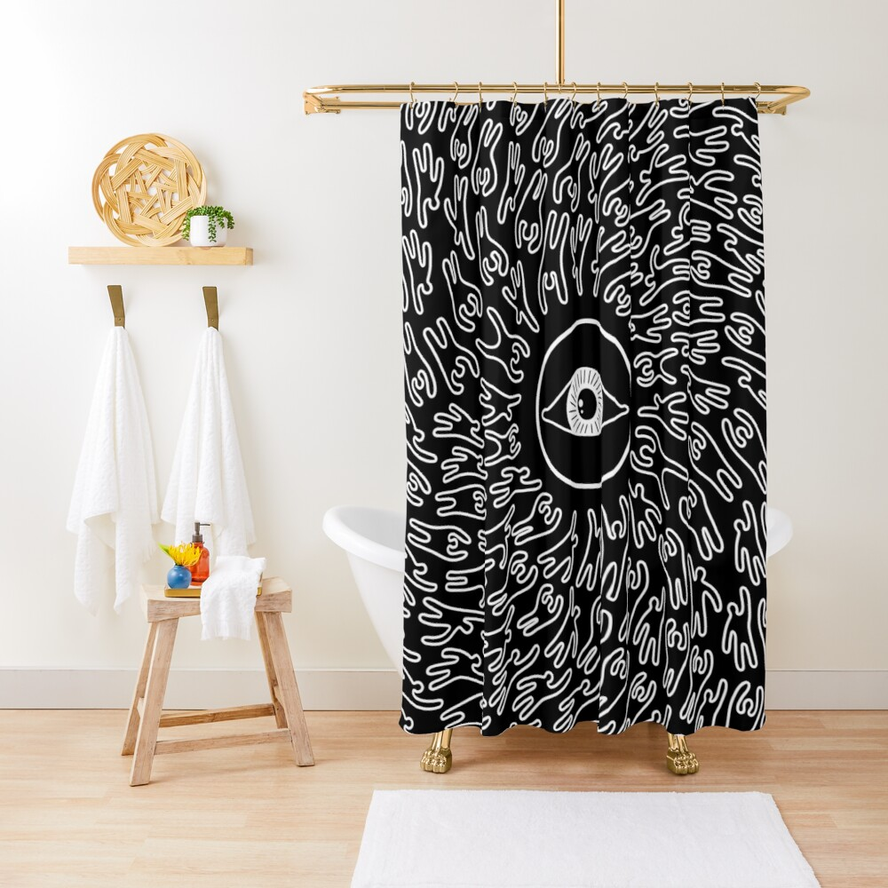 Get To The Source Shower Curtain