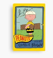 Peanuts Canvas Print