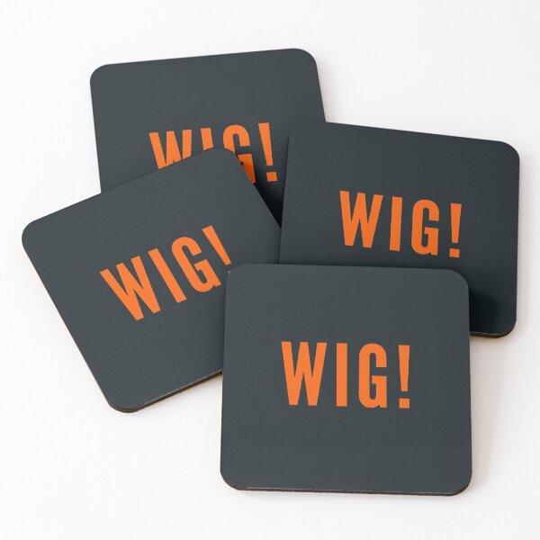 Wig Coasters (Set of 4)