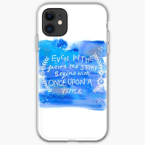 The Lunar Chronicles Space Quote iPhone Soft Case