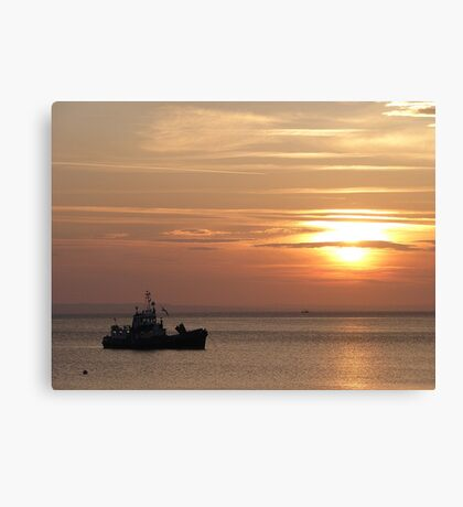 Sunset on the Isle of Arran  Canvas Print