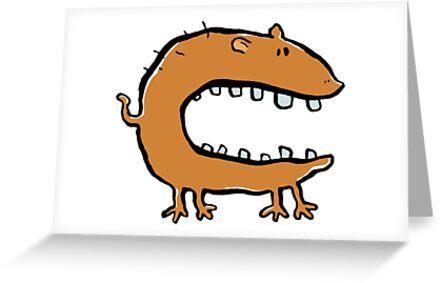 hungry animal by greendeer