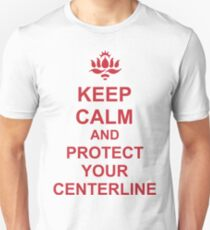Protect your center line (heart line). T-Shirt