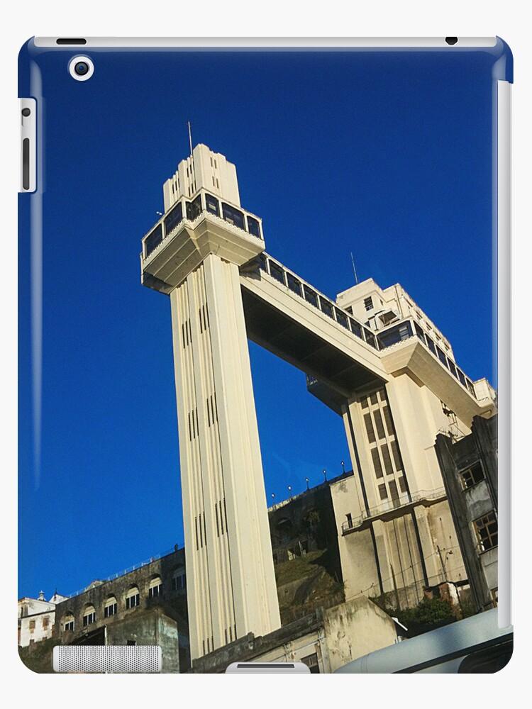 Elevador Lacerda / Salvador - Brazil [ iPad / iPod / iPhone Case ] by Mauricio Santana