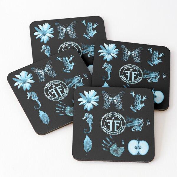 Fringe Division and Glyphs Coasters (Set of 4)