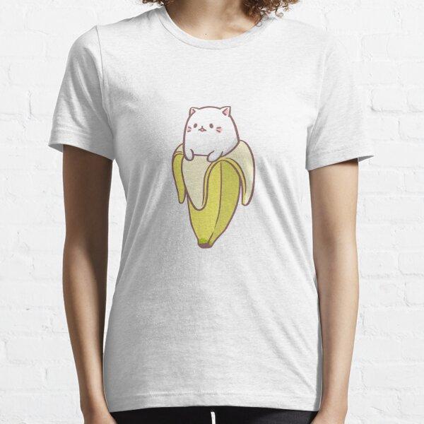 Bananya Banana Katze Essential T-Shirt