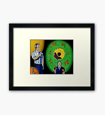 Conformity Leads to Confidence Framed Print