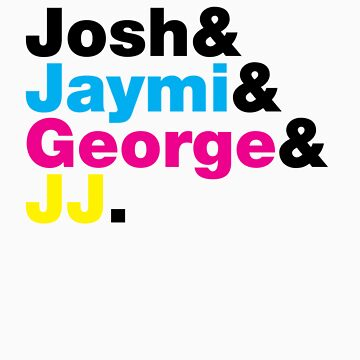 Josh & Jaymi & George & JJ (colour & black) by RetroLink