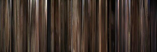 Moviebarcode: Chinatown (1974) by moviebarcode