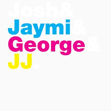 Josh & Jaymi & George & JJ (colour & white) by RetroLink