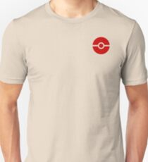 Subtle pokeball pokemon logo red - no words T-Shirt