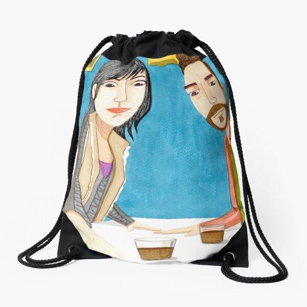 Carajillo Drawstring Bag