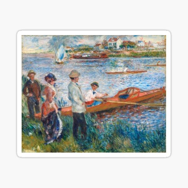 Auguste Renoir - Oarsmen at Chatou Sticker