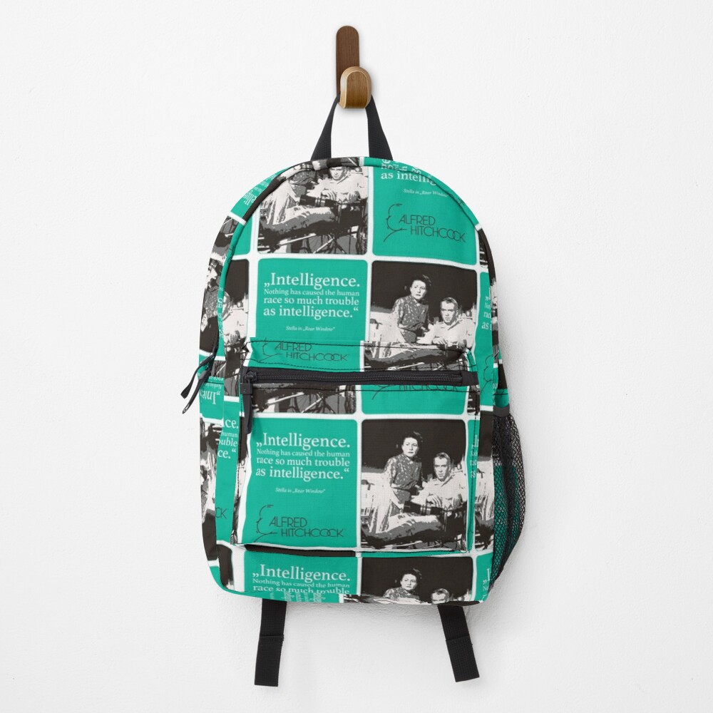 until he suspects Backpack