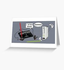 I am your father! Greeting Card