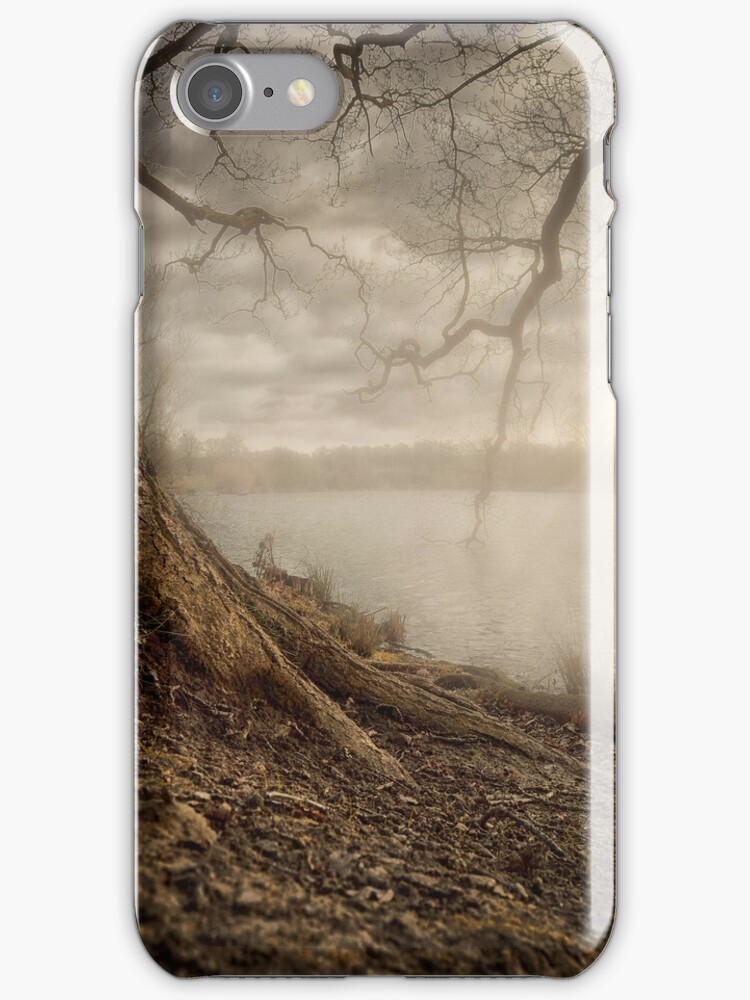 SUNSET LAKE IPHONE CASE by Rob  Toombs