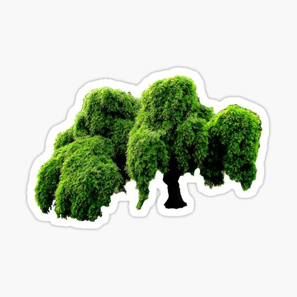 Jenischpark tree Sticker