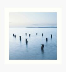 The Old Victorian Pier Art Print