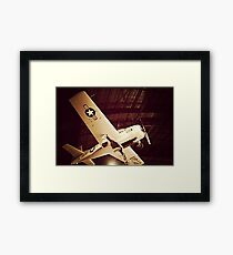 Beauty in the Air X Framed Print
