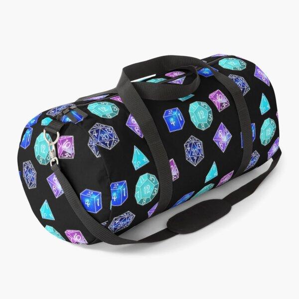 Neon dice Duffle Bag
