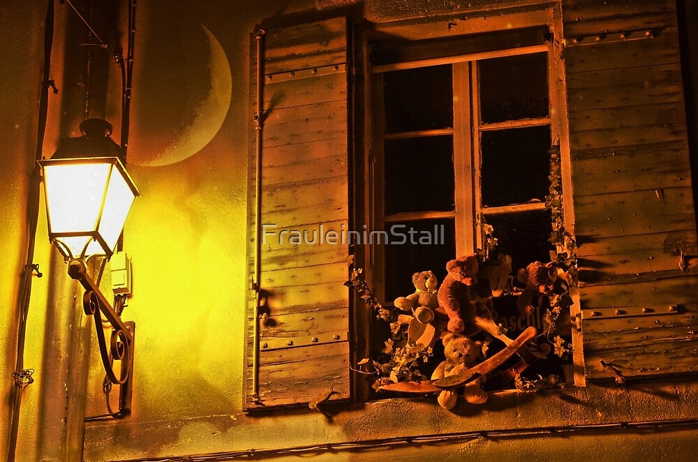 What teddy bears do in the night by FrauleinimStall