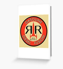RedRocket Greeting Card