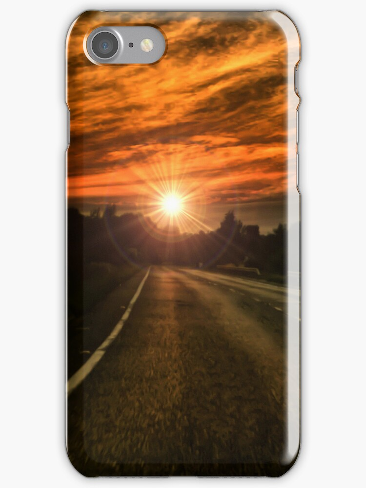 FIRE SKY - Iphone Case by Rob  Toombs