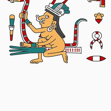 Tlazoltéotl the Aztec witch goddess by fynoderee