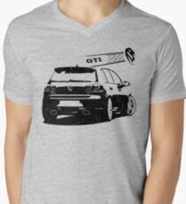 vw golf, golf gti Mens V-Neck T-Shirt