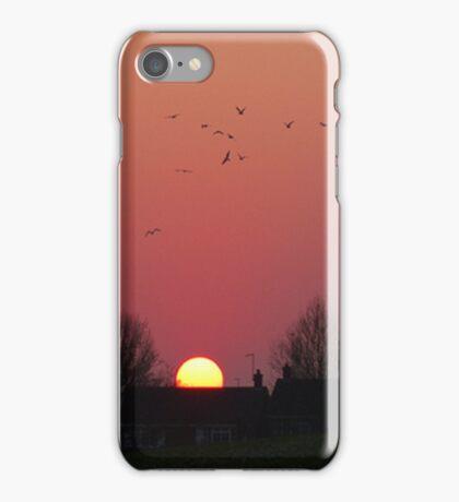 Sunrise in the Park iPhone Case/Skin