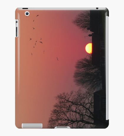 Sunrise in the Park iPad Case/Skin