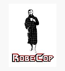 RobeCop Photographic Print