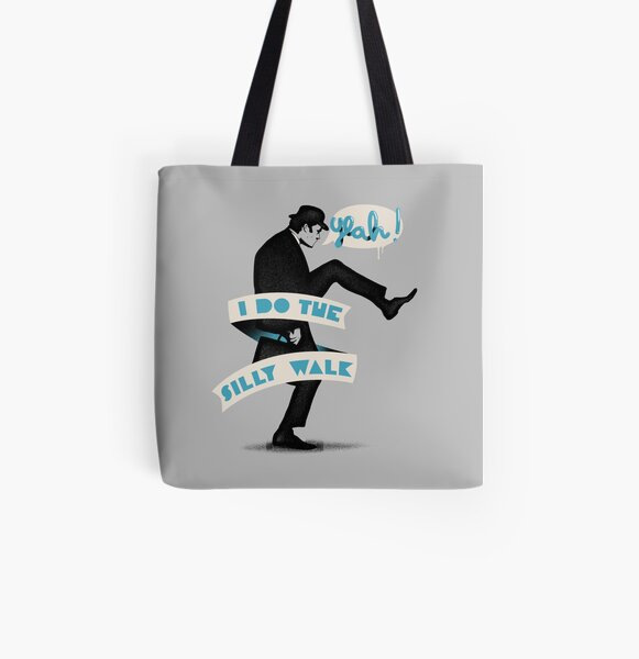 Silly walk All Over Print Tote Bag