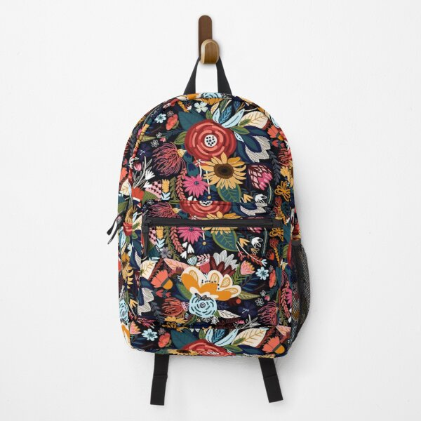 Popping Moody Floral  Backpack
