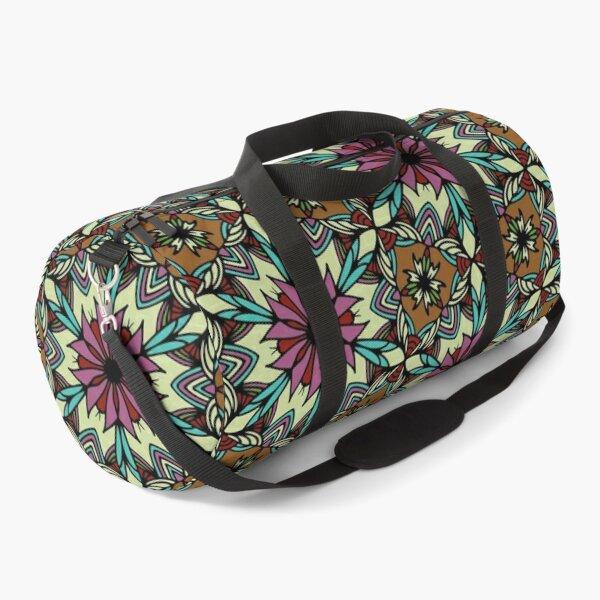 Floral pattern bohemian style  Duffle Bag