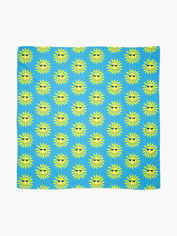 Alternate view of You are my sunshine my only sunshine Scarf