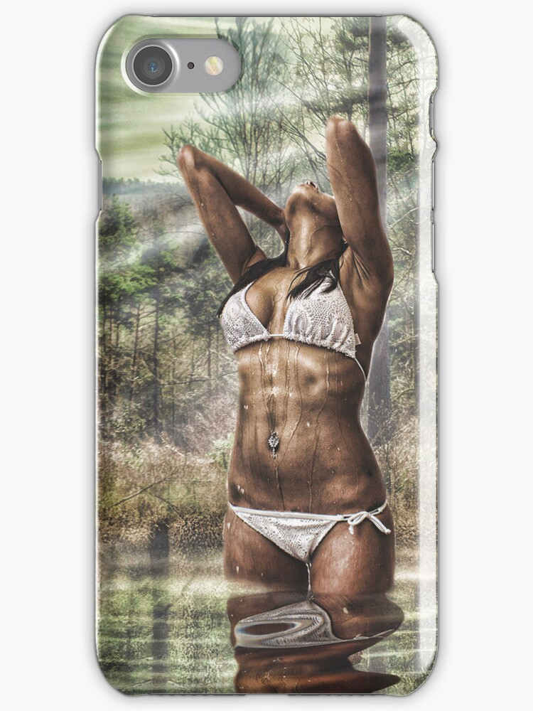SENSUAL DIP - iphone case by Rob  Toombs