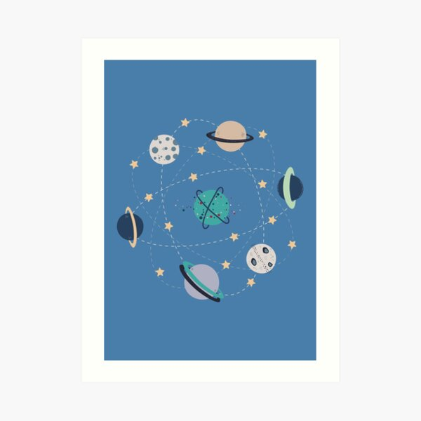 a new galaxy Art Print