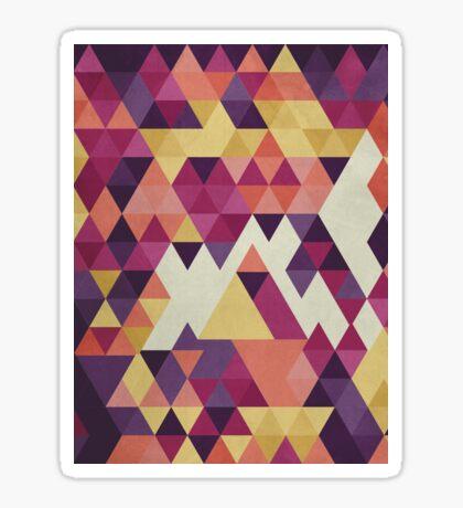 Geometri III Sticker