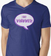 double whammy Mens V-Neck T-Shirt