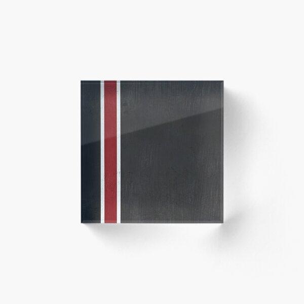 N7 Stripe Acrylic Block